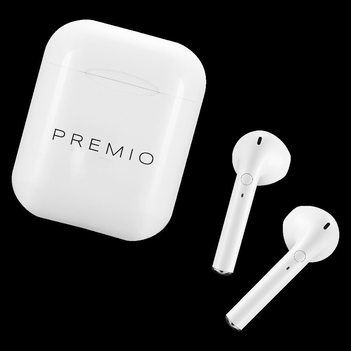 Premio V4 TWS earphone with case