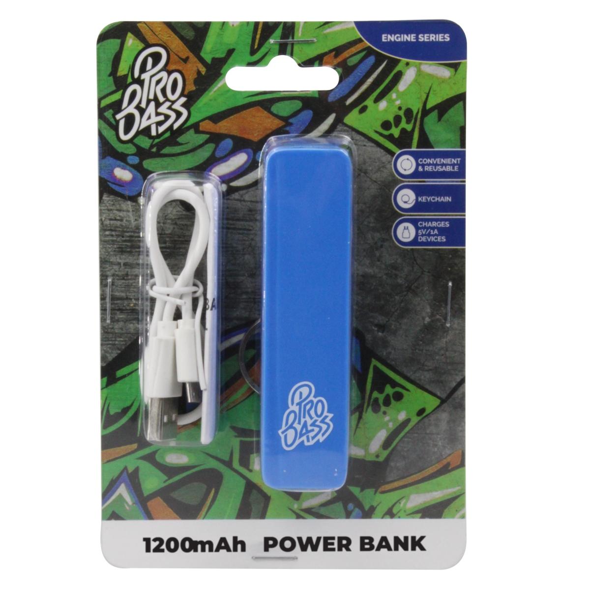 Pro bass engine 1200 mAh power bank