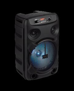 "Premio Z200 8"" bluetooth party speaker with microphone"